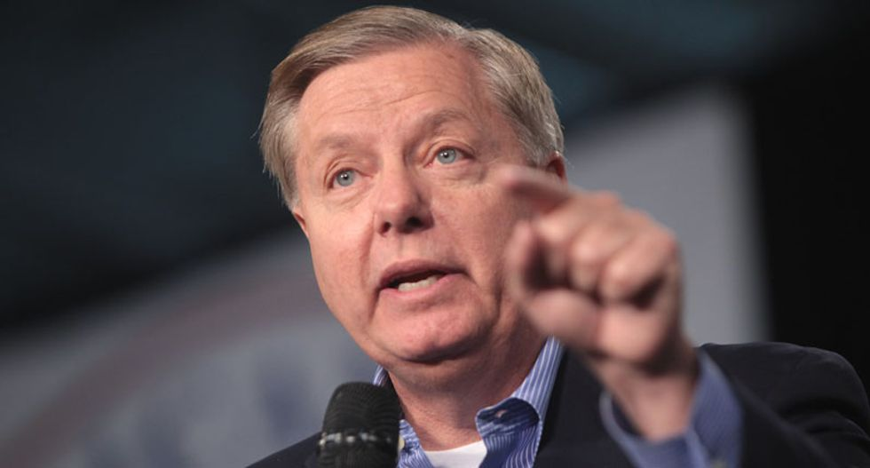 Lindsey Graham serves notice the Republicans will investigate the whistleblower and Biden after Senate acquits Trump