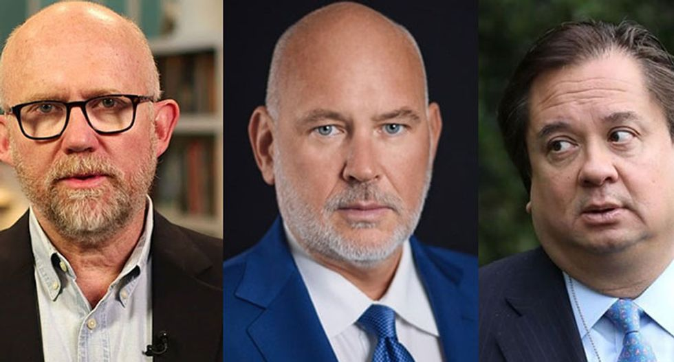 George Conway, Steve Schmidt and Rick Wilson burn Trump to the ground in scathing joint op-ed