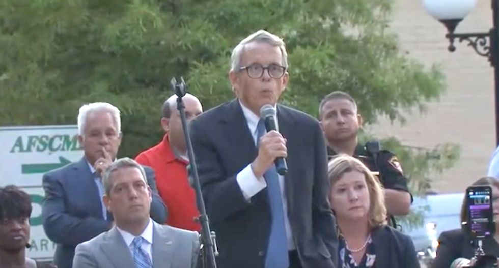 Ohio's GOP governor booed by Trump supporters at MAGA rally