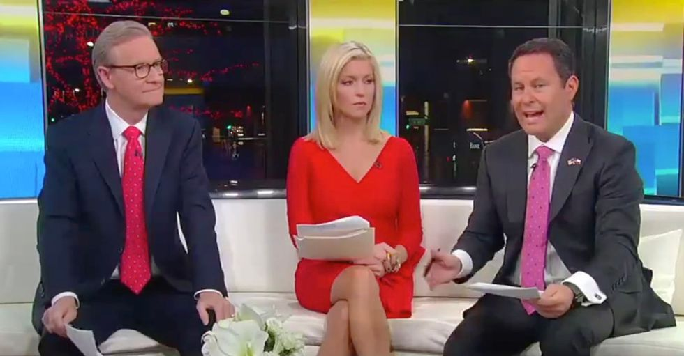 Fox & Friends host 'stunned' after Fox News poll shows majority of Americans want Trump impeached