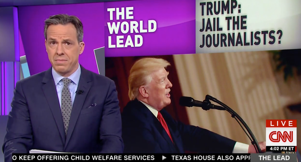 'Not exactly leading by example': Jake Tapper slams Trump officials for applauding Saudi suppression of dissent