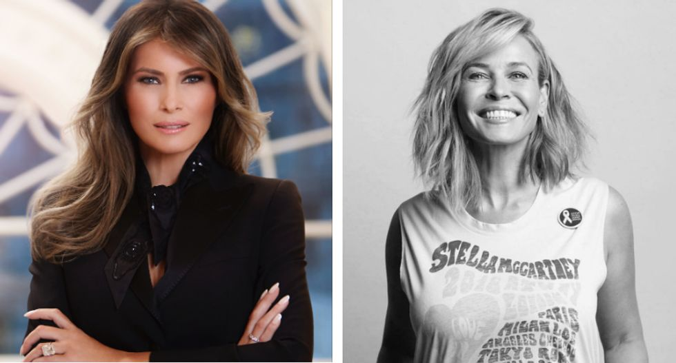 Chelsea Handler: Melania would be an 'American hero' if she divorced Trump and spilled his 'dirty secrets'
