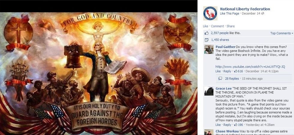 National Liberty Federation Bioshock FB