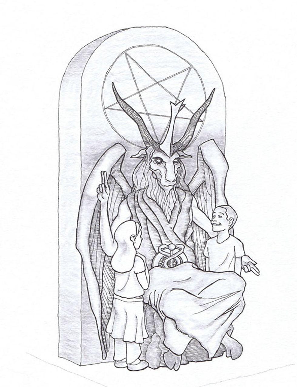 satan-monument