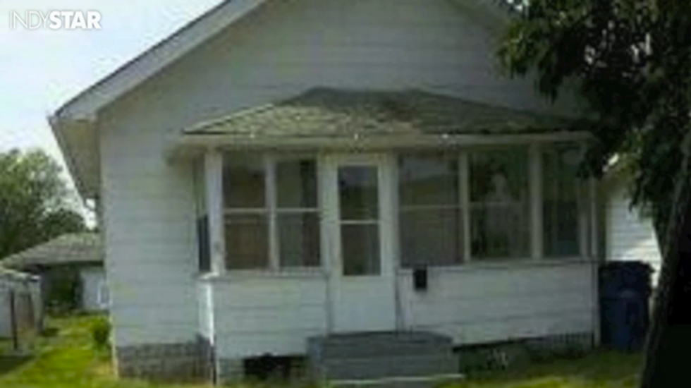 Gary Indiana haunted house