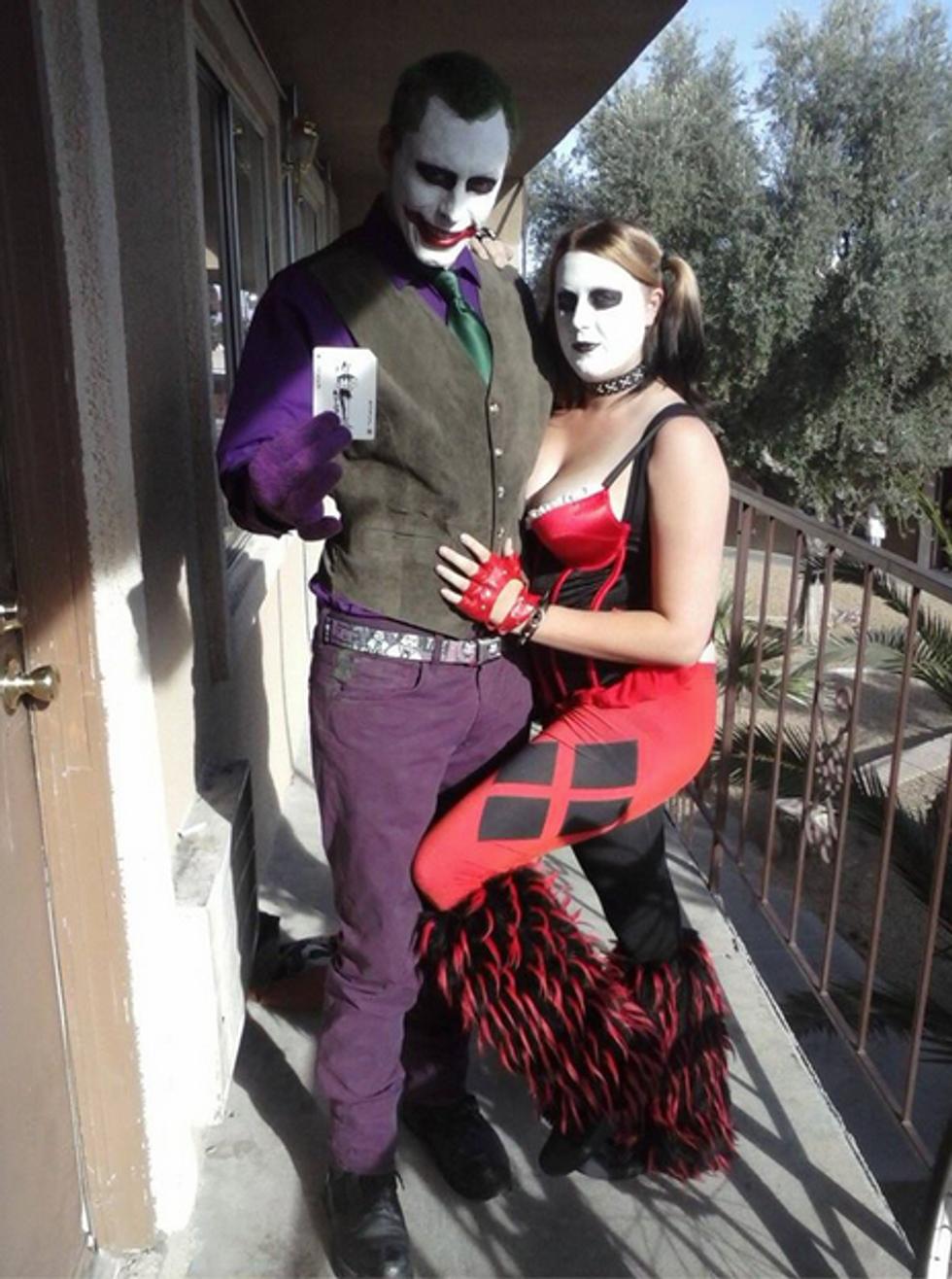 Jerad Amanda Miller Joker cosplay