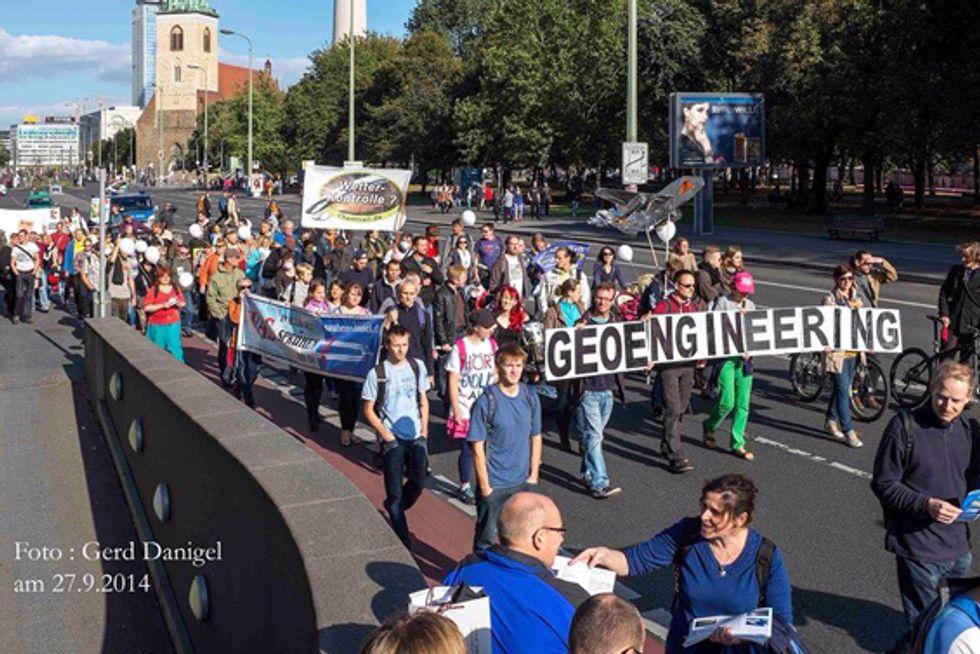 Global march- Berlin (Facebook)