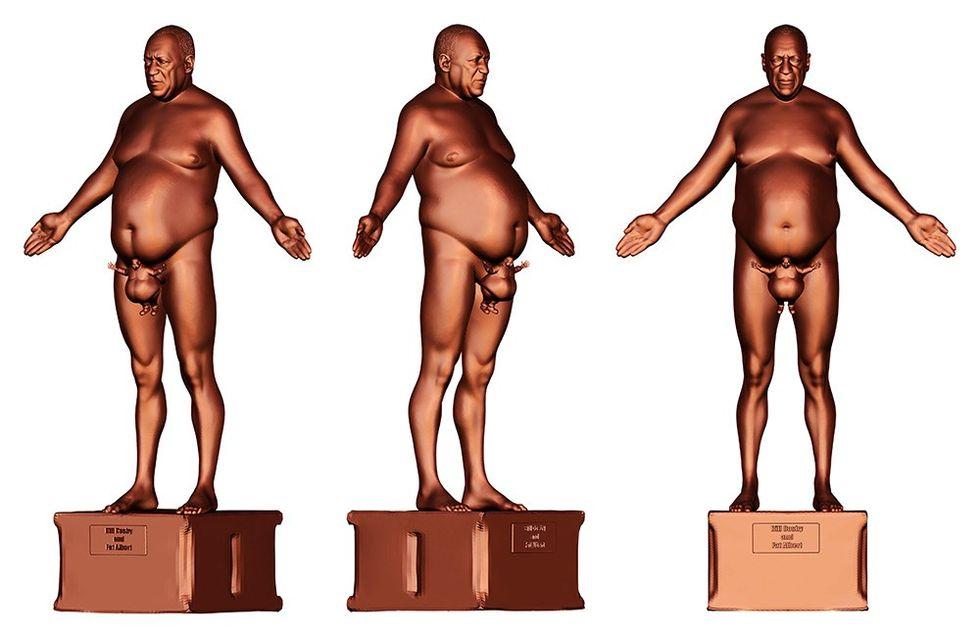 Fat Albert Cries for Dr. Huxtable (Cory Allen Contemporary Art)