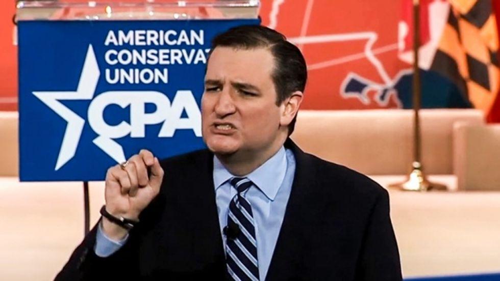 Senator Ted Cruz at CPAC