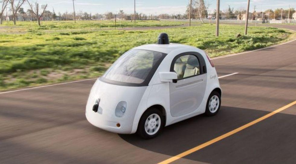 Google self-driving car (Google)