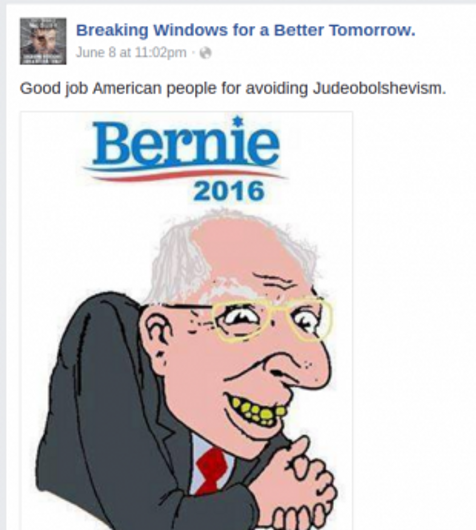 Volodymyr Bernie Sanders Judeobolshevism June 2016(1)
