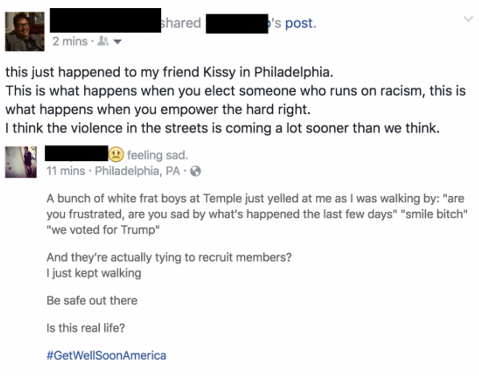 trump related bullying