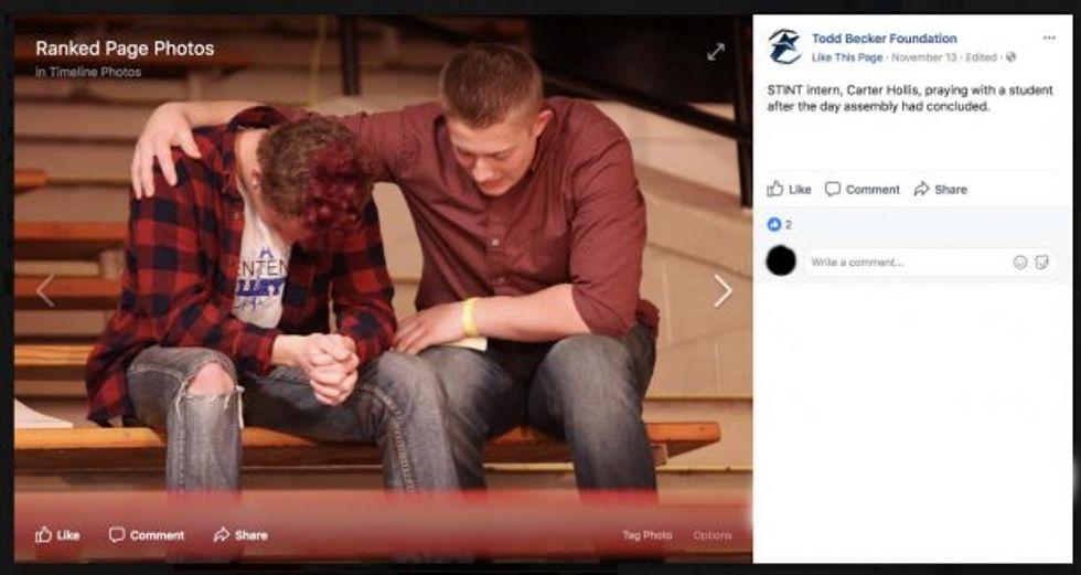 Todd Becker Foundation deleted photos