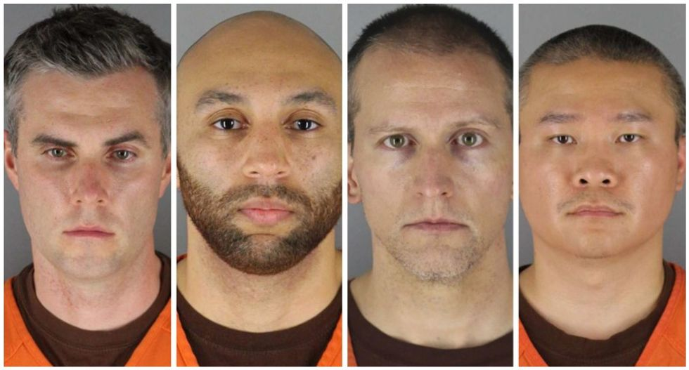 Ex-cops charged with George Floyd's death will be tried as a group with cameras in the courtroom