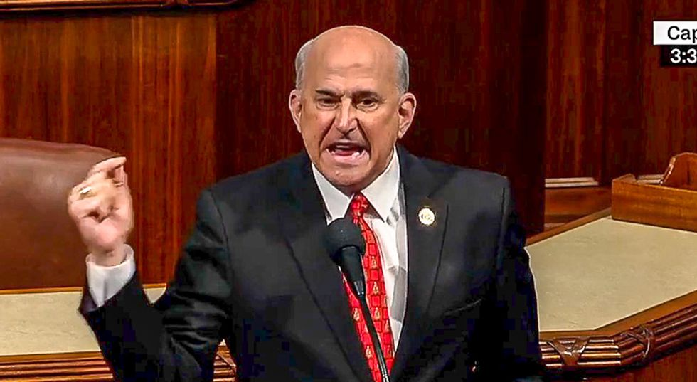 Louie Gohmert single-handedly holds up House coronavirus bill before it can be sent to Senate
