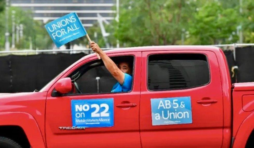 Uber-backed gig worker initiative wins in California: US media
