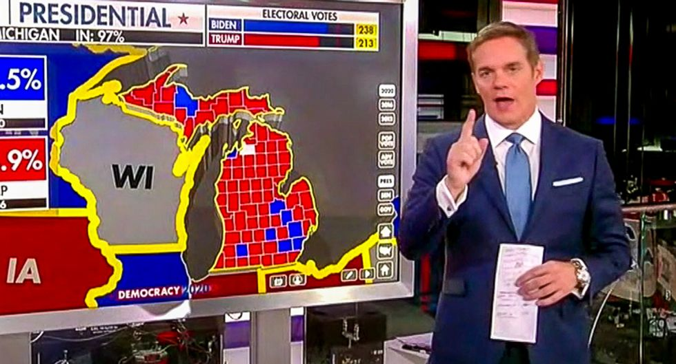 'What is voter intent?' Fox News tries to shift narrative 'from counting votes to what is a vote?'
