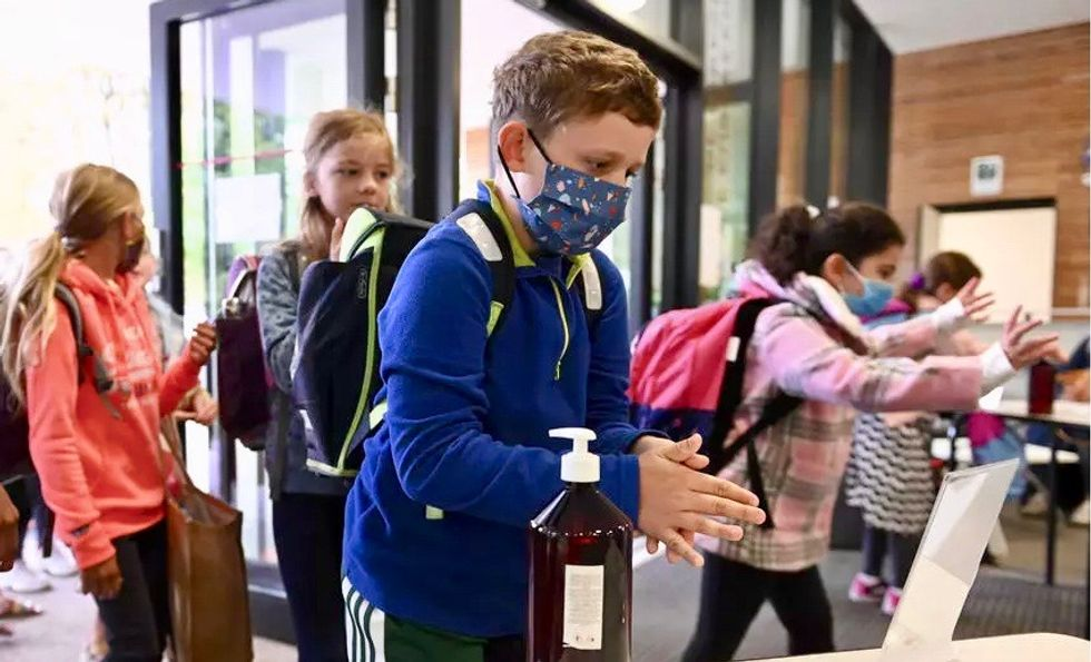 Two school districts had different mask policies -- guess which one had a teacher on a ventilator