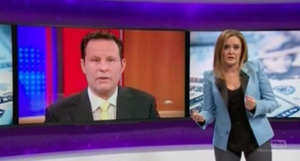 Samantha Bee ridicules Fox host's ignorance about 'genocidal pr*ck' Andrew Jackson