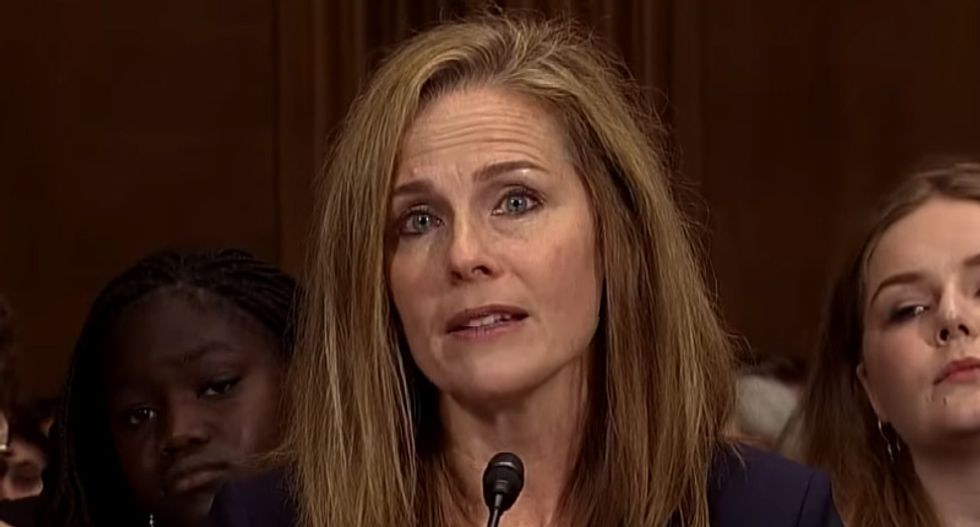 Trump's SCOTUS front-runner Amy Barrett is in a 'cult' -- according to an ex-member who 'experienced abuse and torture'
