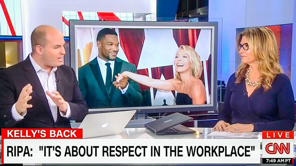 CNN host scolds critic: Kelly Ripa conflict is 'not talent management, it's treating someone as a human'