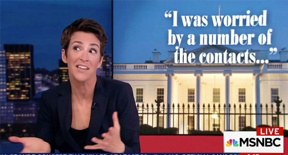 WATCH: Rachel Maddow uses Brennan testimony to follow White House trail of lies from collusion to coverup