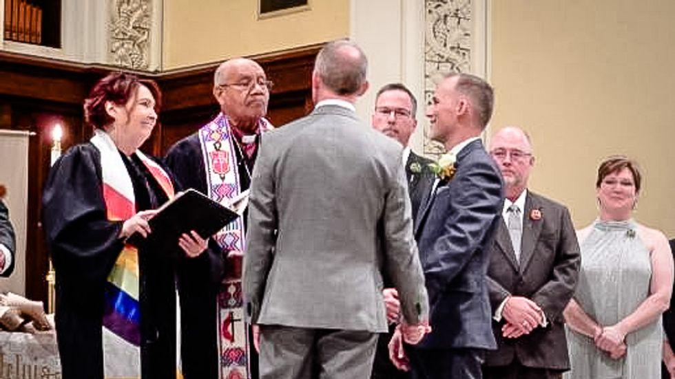 Formal complaint filed against NC pastor for officiating same-sex wedding