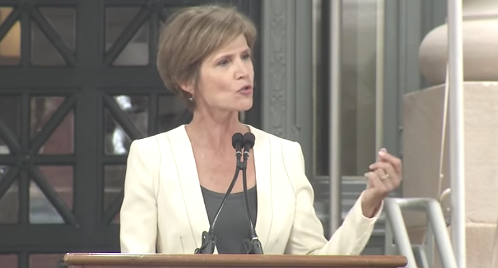 'Worth fighting for': Watch Sally Yates tell Harvard Law grads why she stood up to Trump