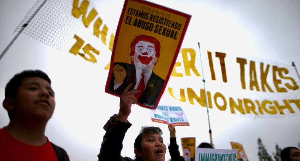 'Fight for 15' targets McDonald's shareholder meeting
