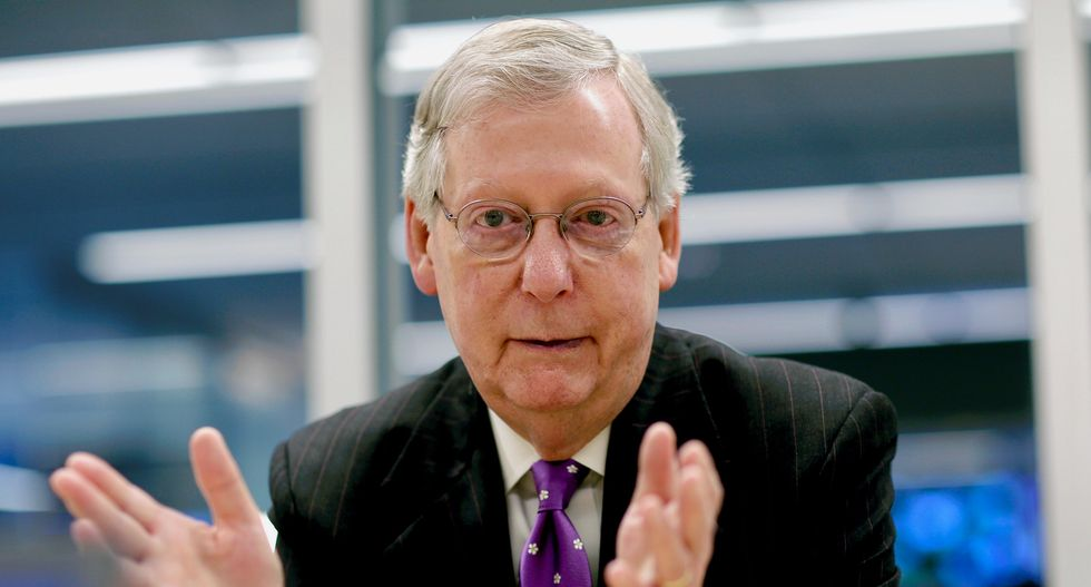 Mitch McConnell says Congress will next address US debt ceiling 'some time next year'