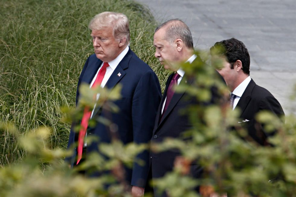 'An effing moron': Trump blasted for opposing bill to sanction Turkey for buying Russian weapons