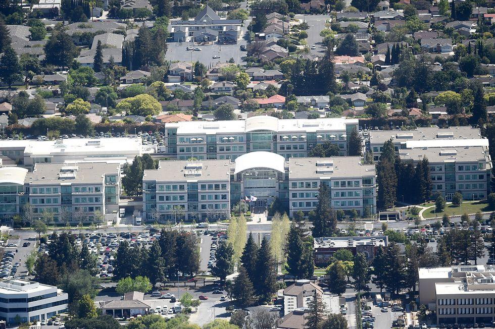 Man found dead at Apple headquarters in California