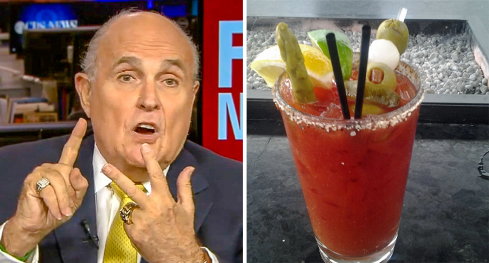 Rudy Giuliani's day drinking questioned by his former press secretary: 'One Bloody Mary is his limit'