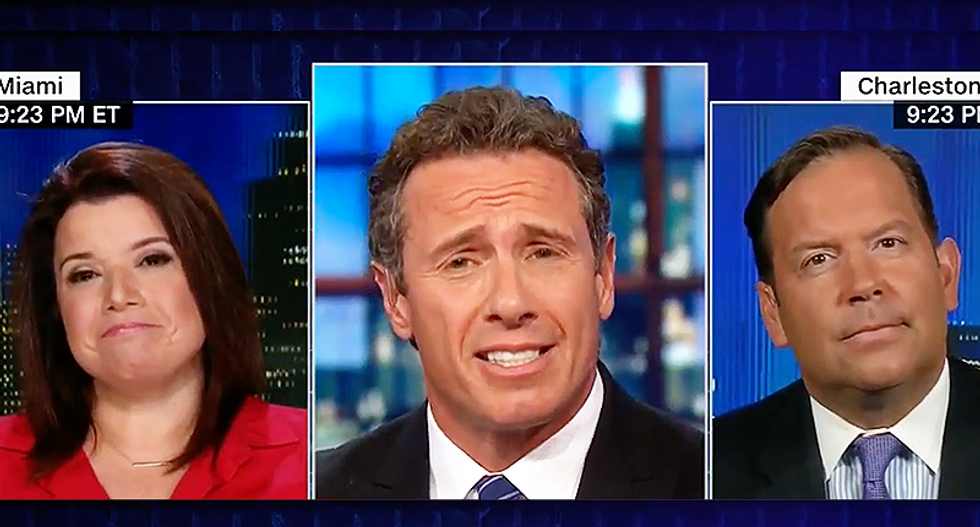 CNN's Chris Cuomo slams Steve Cortes: 'Let's play your favorite game to just blame Obama'
