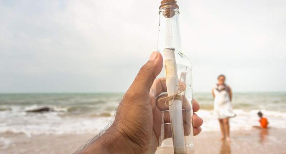 Why scientists studying the ocean hope someone gets your message in a bottle