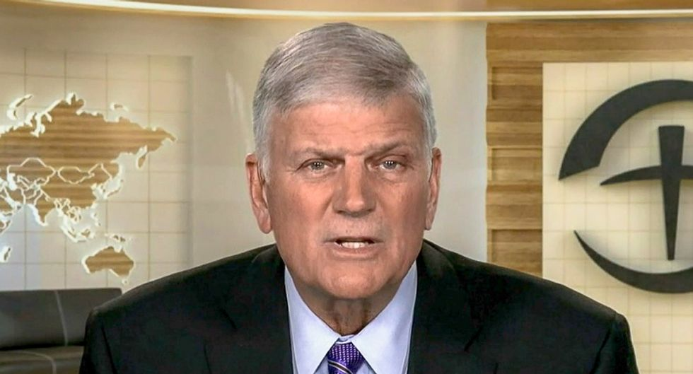 Franklin Graham links Hanukkah party stabbing to 'hatred for Trump': 'I blame people in the media'