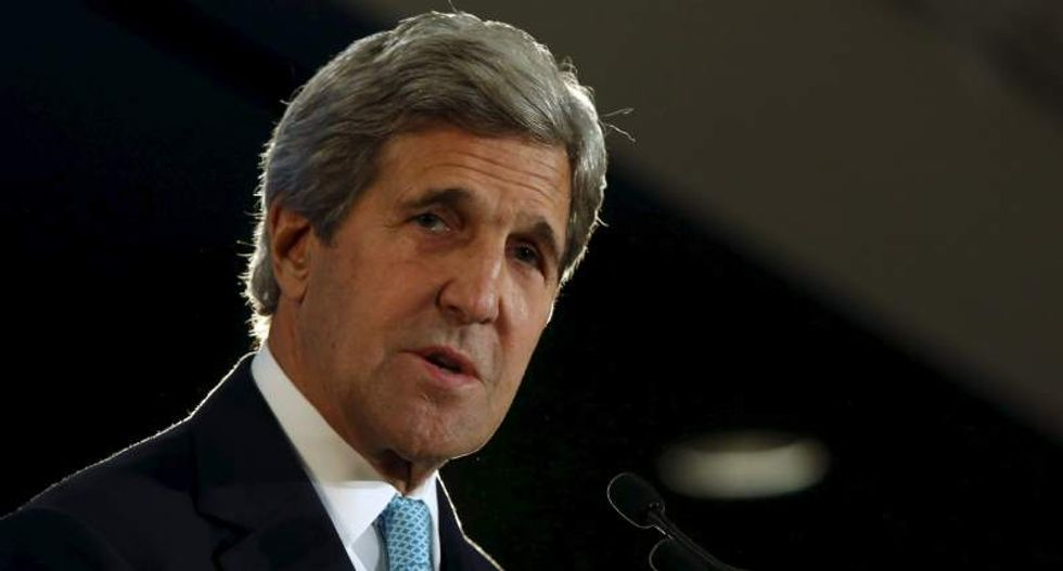 John Kerry launches bipartisan group addressing climate 'like a war'