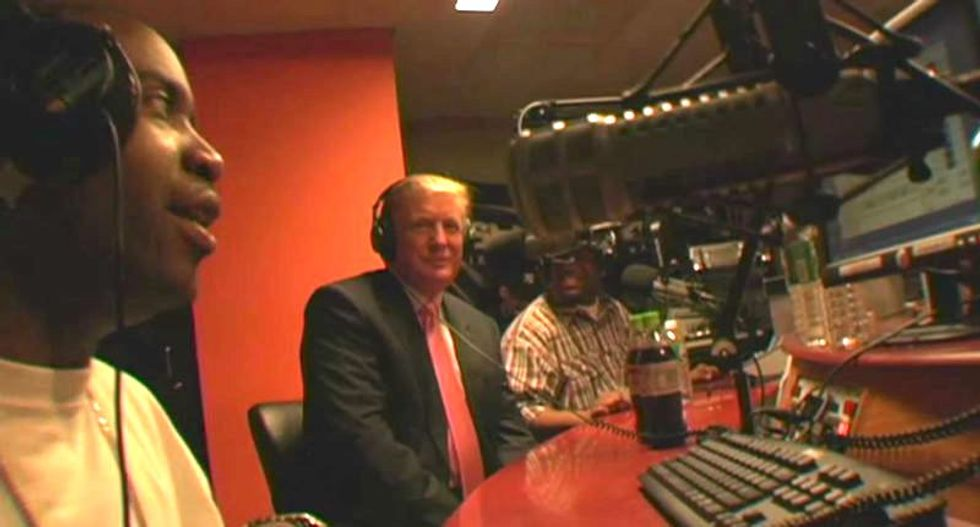 Hip-hop radio host recalls when 'future d*ckhead president' Trump was on his show with drug dealers