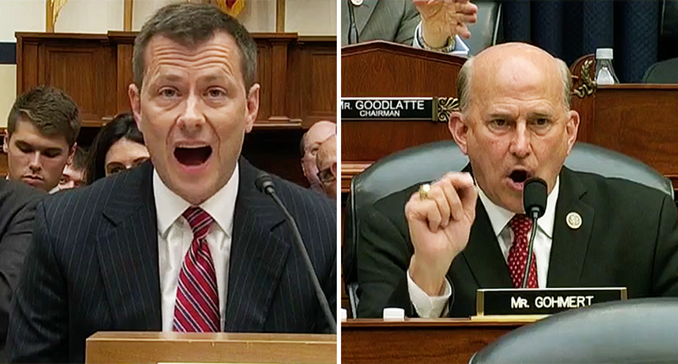 NBC reporter explains how GOP failed to take down Peter Strzok because they're more concerned about impressing Trump