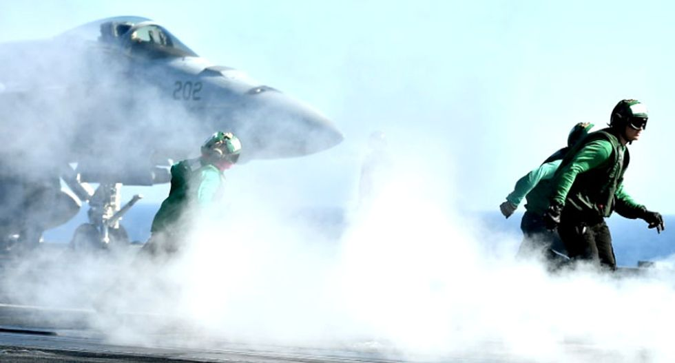 US-led strike kills scores of family members of Islamic State fighters in Syria