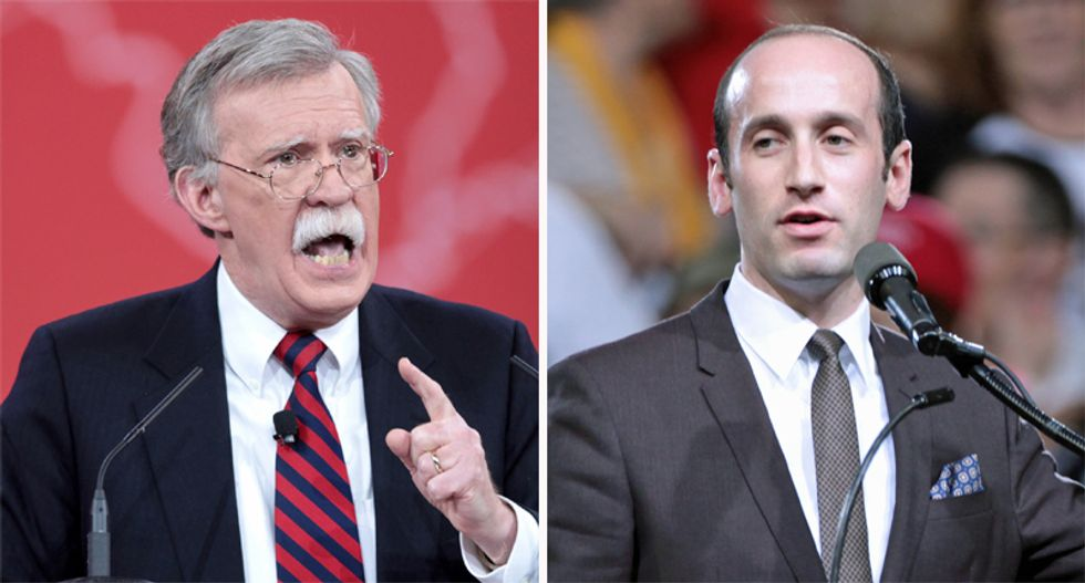 John Bolton ousts well-regarded national security official who clashed with Stephen Miller: report