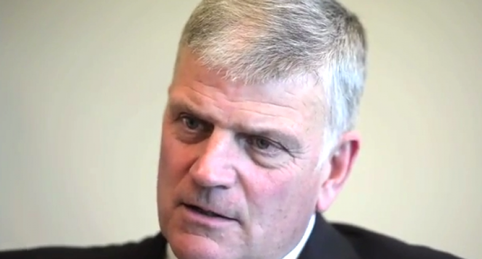 Franklin Graham's status as a spokesman for Christians has been diluted by his laughable Trump support