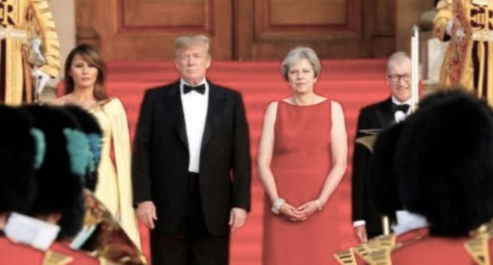 UK PM May doing 'fantastic' job on Brexit, says Trump, promising trade deal