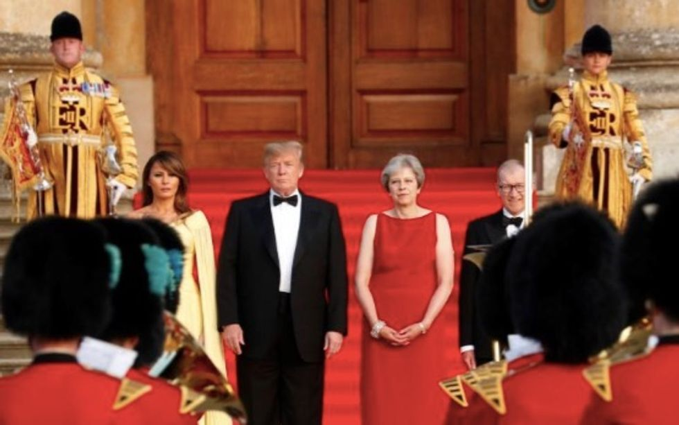 Royal family 'snubbed' Trump and Melania during UK visit: They 'simply refused to attend'