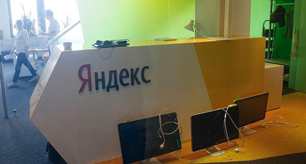 Investigators search Ukrainian offices of Russia's top internet search site Yandex