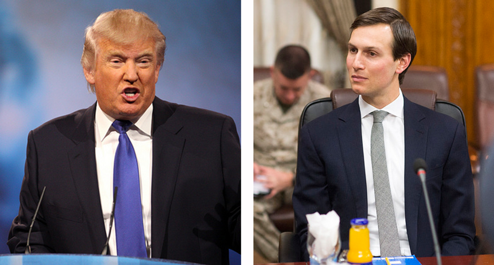 Trump's frustration with Kushner began after he assured the president Comey's ouster would be a 'win'