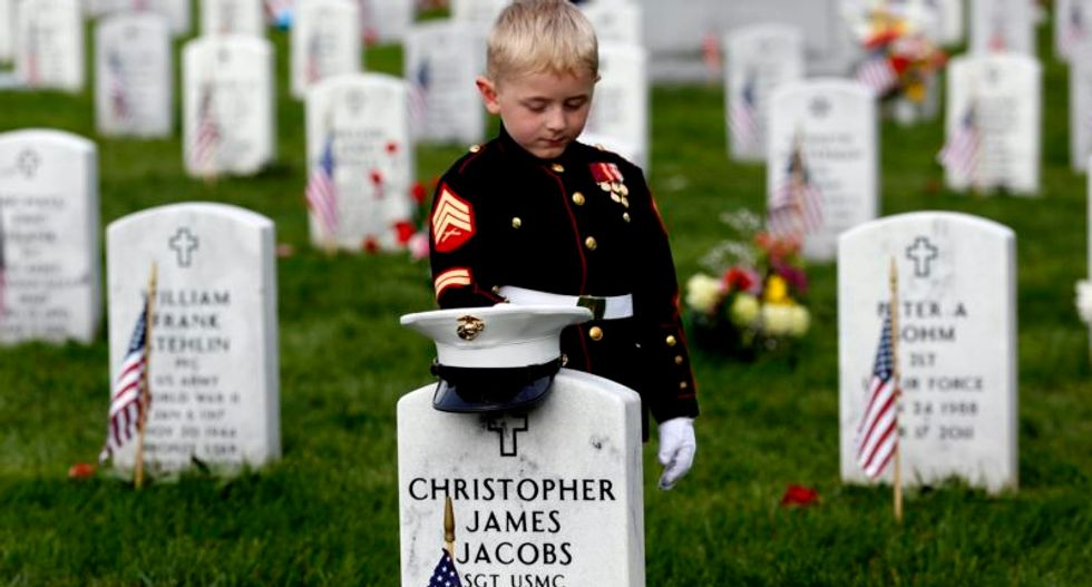 What does Memorial Day mean to a country where one percent serve in the military?