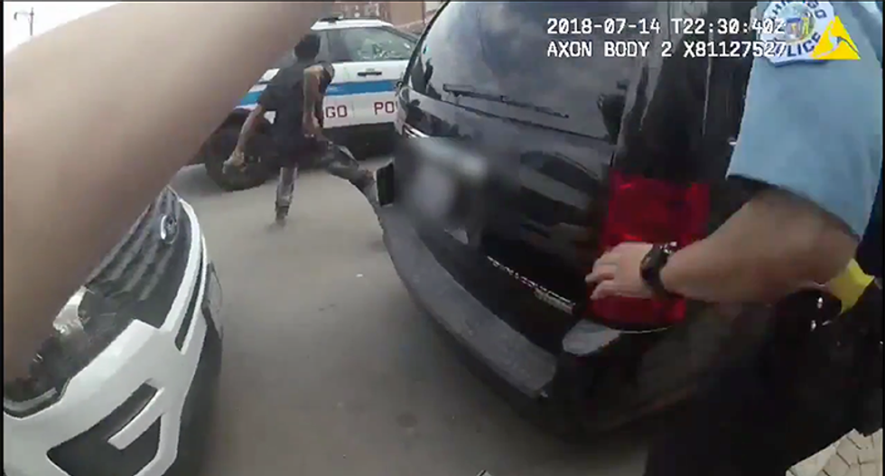 Chicago PD releases body cam footage of Harith Augustus death -- and contradictory findings