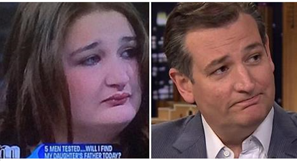 ted cruz is a woman