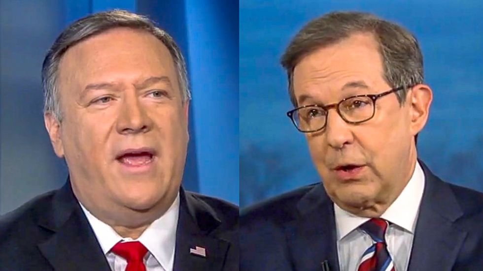 Chris Wallace to Mike Pompeo: It's 'misguided' to think that impeachment is a good time to attack